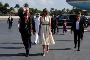 Μελάνια Τραμπ: Συγκλονιστική εμφάνιση!