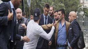 """Το """"κόλπο"""" Κύπριου οπαδού για να φωτογραφηθεί με τον Ρονάλντο!"""