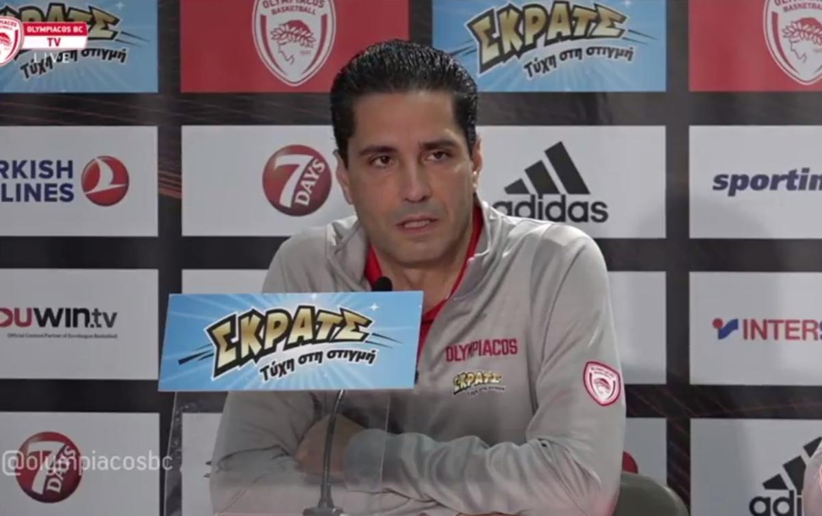 """Ολυμπιακός – Παναθηναϊκός, Σφαιρόπουλος: """"Να δείξουμε πως το θέλουμε πιο πολύ"""""""