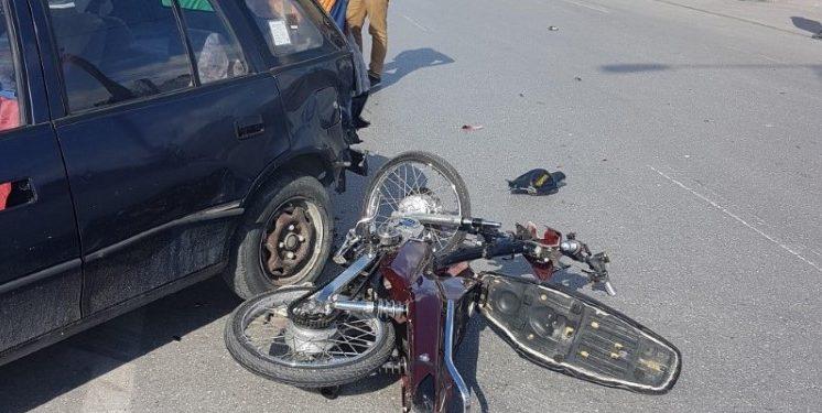 Κρήτη: Νέο τροχαίο με σύγκρουση αυτοκινήτου με μηχανή – Αυτοψία στο σημείο [pics]