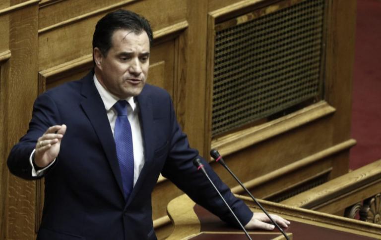 Άδωνις Γεωργιάδης: Σφοδρή επίθεση στην κυβέρνηση με αφορμή την Μαρέβα Μητσοτάκη