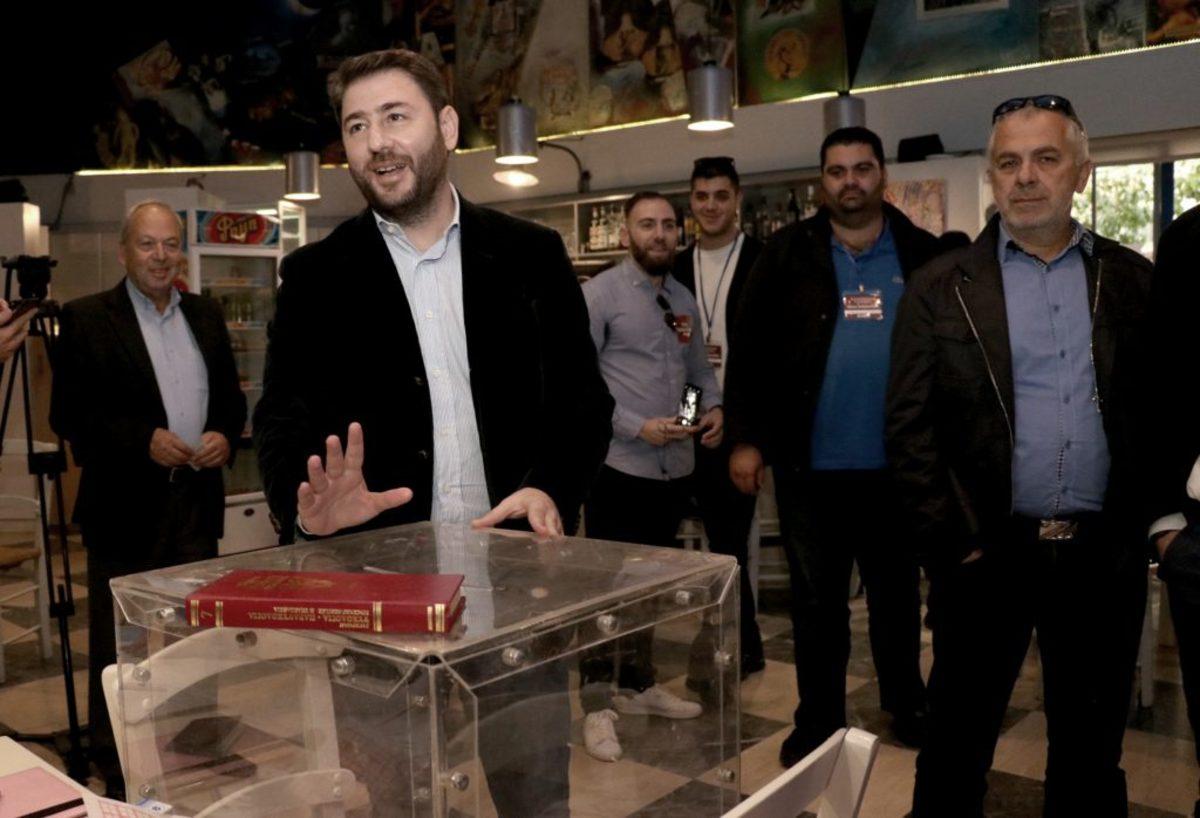 Νίκος Ανδρουλάκης: Η παράταξή μας είναι εδώ, απέναντι σε ΝΔ και ΣΥΡΙΖΑ