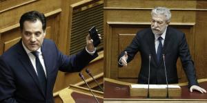 """""""Σκοτωμός"""" Γεωργιάδη – Κοντονή για τον νόμο Παρασκευόπουλου"""