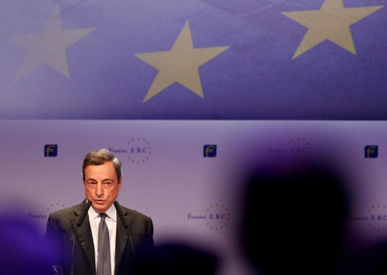 """Ντράγκι: Σημαντική βελτίωση της ελληνικής οικονομίας – """"Αγκάθι"""" τα κόκκινα δάνεια"""