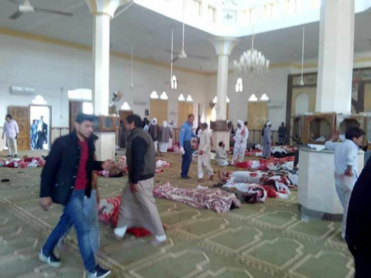 Βόρειο Σινά Αίγυπτος τέμενος τρομοκρατική επίθεση