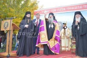 Παρουσία του Αρχιεπίσκοπου η ενθρόνιση του νέου Μητροπολίτη Σταγών και Μετεώρων [pics]