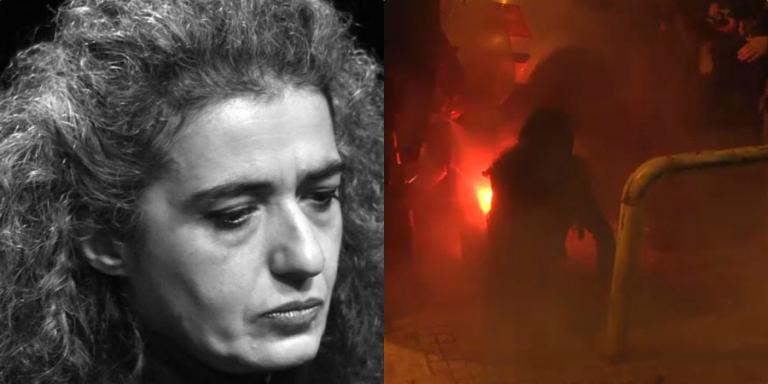 Σε κρίσιμη κατάσταση η δικηγόρος Αναστασία Τσουκαλά – Τραυματίστηκε στα επεισόδια στα Εξάρχεια από ναυτική φωτοβολίδα