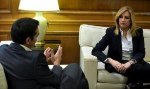 """Φώφη Γεννηματά: """"Ο Τσίπρας κυβερνά με ακροδεξιά στοιχεία"""""""