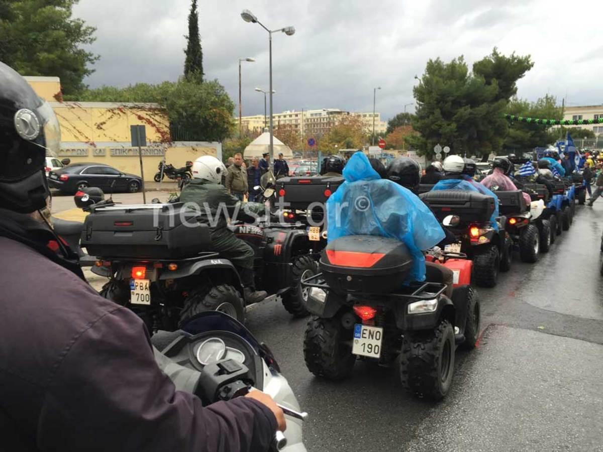 Γέμισε γουρούνες το κέντρο – Ήρθαν από την Κρήτη – Τι ζητούν