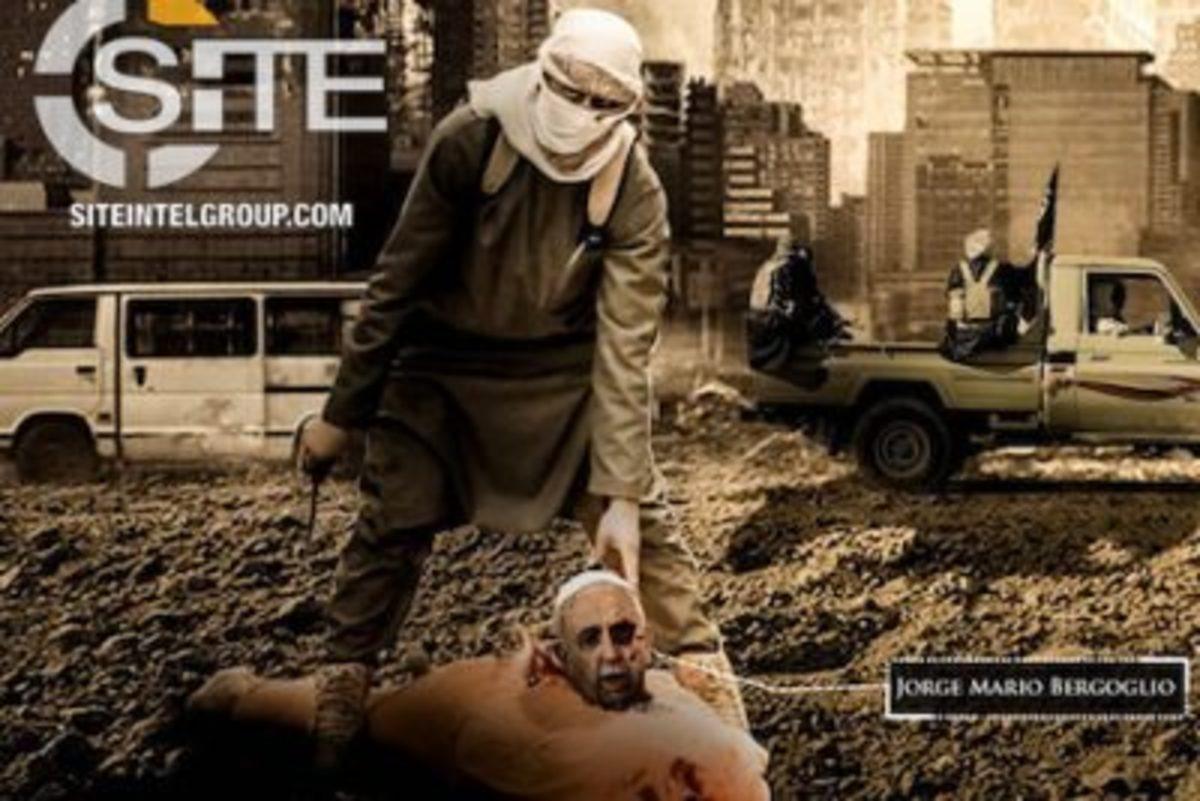 Ο ISIS αποκεφάλισε τον Πάπα Φραγκίσκο! [pic]