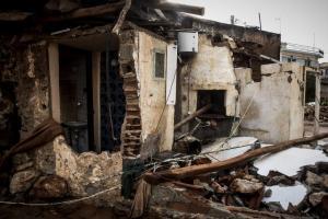 """Δυτική Αττική: Τεράστιες καταστροφές και """"αφανισμός"""" περιουσιών – 644 κτίρια διαλυμένα"""