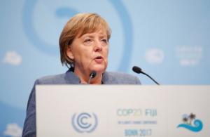 """Μέρκελ: Η κλιματική αλλαγή είναι """"μοιραίο ζήτημα"""" για την ανθρωπότητα"""