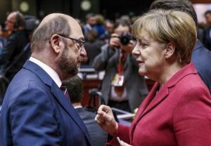 Νέες εκλογές ζητούν Μέρκελ και Σουλτς!