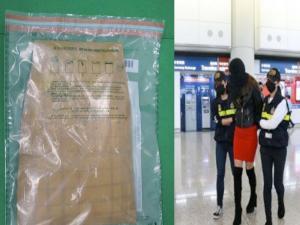 Κινδυνεύει με ισόβια η Ελληνίδα μοντέλο που μετέφερε κοκαΐνη στο Χονγκ Κονγκ
