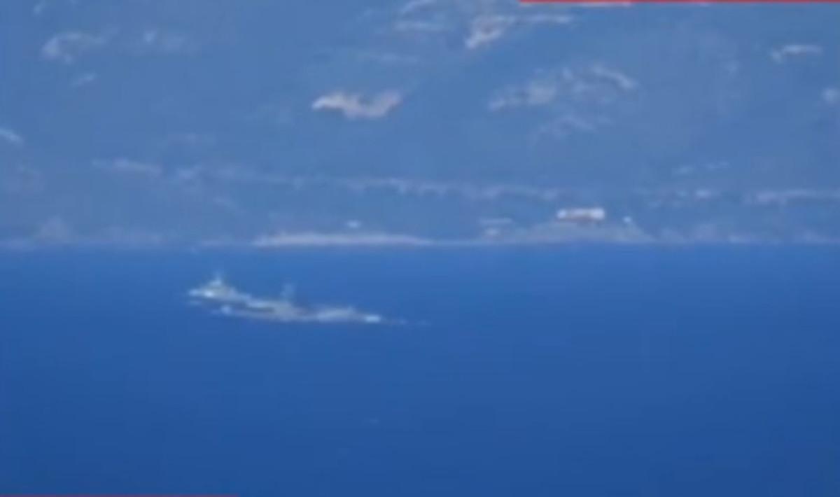 """Βίντεο ντοκουμέντο: Τούρκοι εθνικιστές έκαναν… βόλτα με πλοίο στις Οινούσες – """"Είναι έδαφος τουρκικό"""""""
