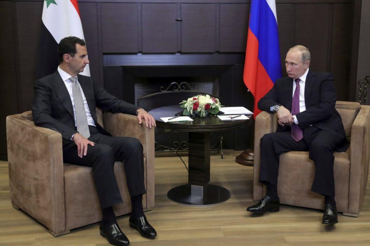 Πούτιν - Άσαντ