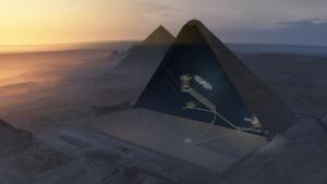 Σπουδαία αρχαιολογική ανακάλυψη! Στο φως το μυστικό που κρύβει η Πυραμίδα του Χέοπα!