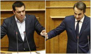 """""""Σκοτώθηκαν"""" Αλέξης Τσίπρας – Κυριάκος Μητσοτάκης για το κοινωνικό μέρισμα"""