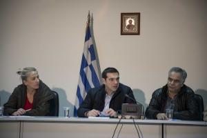 Τσίπρας από Μάνδρα: Υπάρχουν κι αλλού προβληματικές υποδομές, όχι μόνο στην Δυτική Αττική
