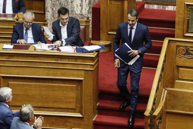 Δείτε Live: Την σύγκρουση Μητσοτάκη – Τσίπρα στη Βουλή