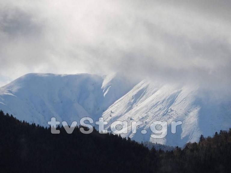 Χιόνισε πάλι στο Βελούχι [pics]