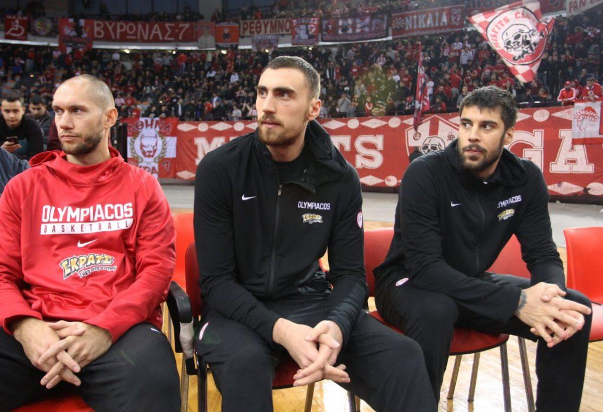 Εφές – Ολυμπιακός: Χωρίς Πρίντεζη και Μιλουτίνοφ στην Πόλη!