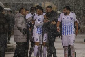 """Κύπελλο: Συντριβή στα χιόνια για Παναθηναϊκό! """"Τεσσάρα"""" από Λαμία [pics]"""