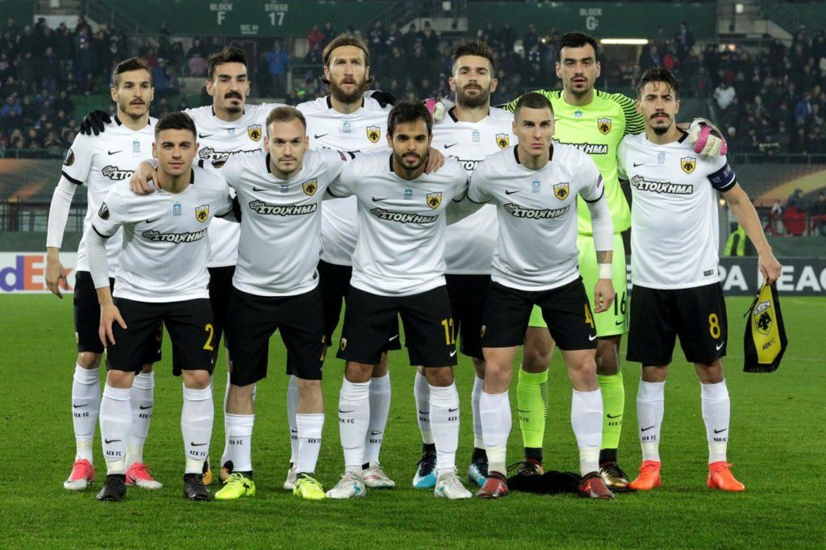 ΑΕΚ - Ενδεκάδα - Europa League