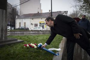Βελιγράδι: Στο μνημείο του Ελευθέριου Βενιζέλου ο Αλέξης Τσίπρας [pics]