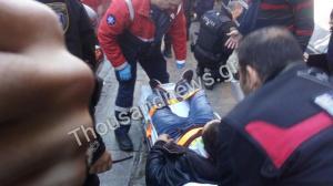 Βγήκαν τα μαχαίρια στο κέντρο της Θεσσαλονίκης – Αιματηρή συμπλοκή με τραυματία [vid]