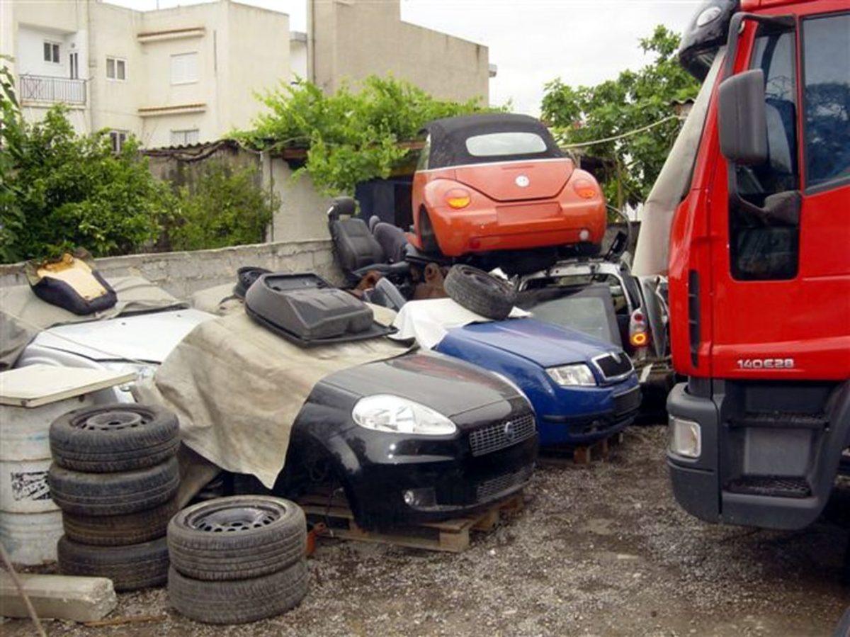 σπείρα κλοπές αυτοκινήτων