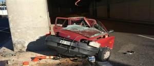 Τροχαίο δυστύχημα στην Αττική Οδό – Οδηγός έχασε την ζωή της όταν έπεσε σε τοίχο σήραγγας