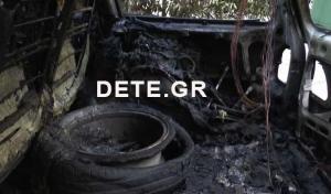 Πάτρα: Φωτιά σε αυτοκίνητα μετά από τροχαίο – Οι εικόνες από το σημείο του ατυχήματος [pic, vid]