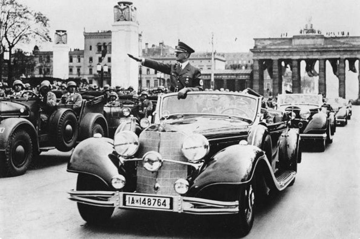 """Στο """"σφυρί"""" η Mercedes του Αδόλφου Χίτλερ [pics]"""