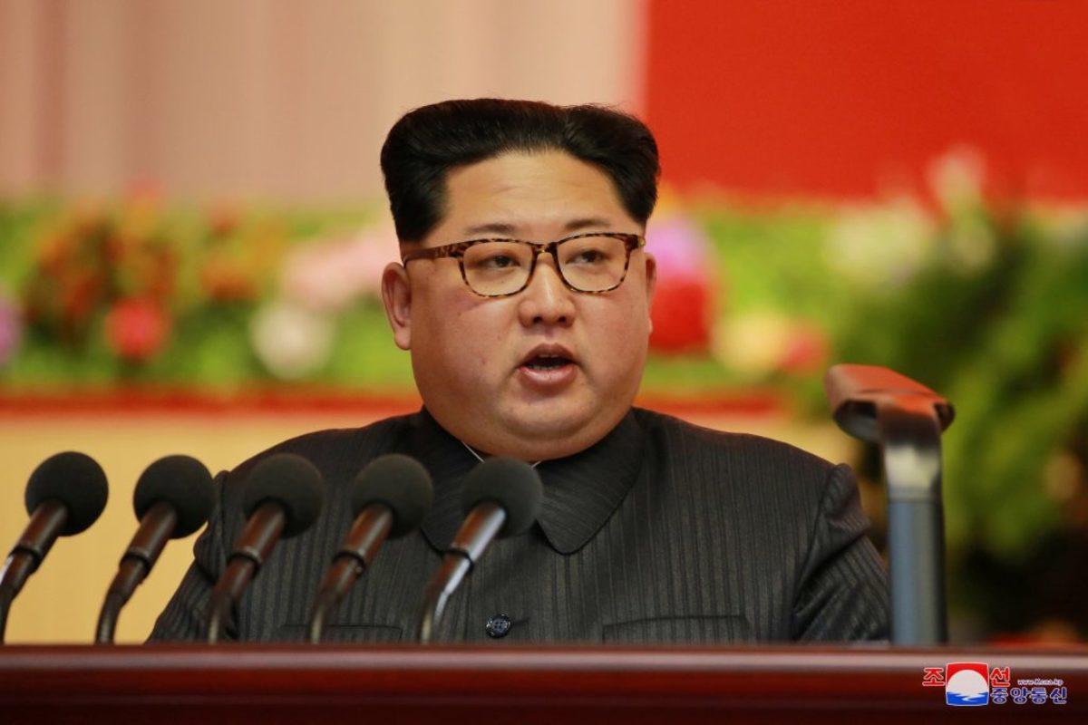 Κιμ Γιονγκ Ουν Βόρεια Κορέα