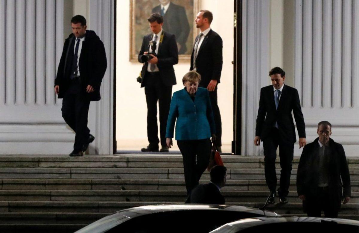 Γερμανία κυβέρνηση Μέρκελ Σουλτς