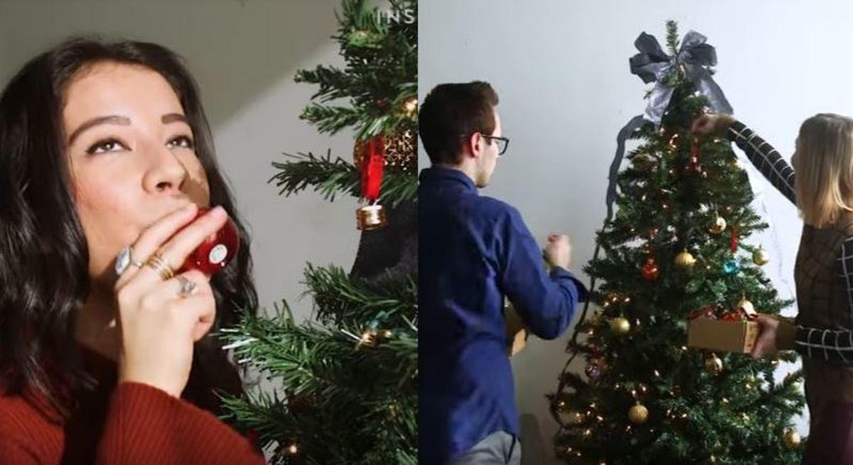 Χριστουγεννιάτικες μπάλες γεμιστές με… τζιν!