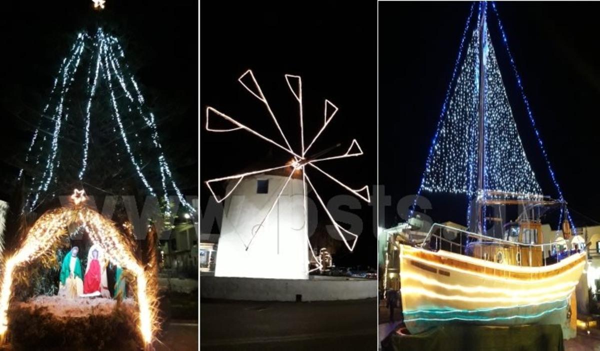 Πάρος: Χριστουγεννιάτικο στολίδι η Παροικιά [pics]