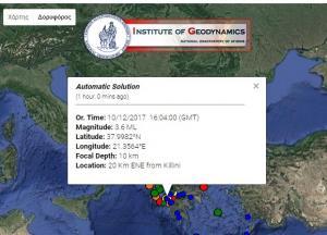 Δίδυμος σεισμός στην Ηλεία – Διπλό χτύπημα του Εγκέλαδου