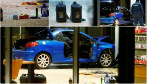 """Τρόμος στο Βερολίνο! Αυτοκίνητο… βόμβα """"μπούκαρε"""" στα γραφεία του SPD! [pics]"""