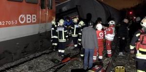 Σύγκρουση τρένων κοντά στη Βιέννη! Πολλοί τραυματίες
