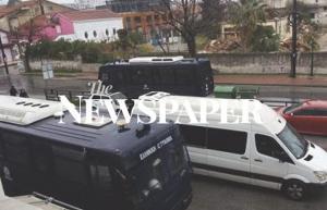 Βόλος: Αστυνομική επιχείρηση σε υπό κατάληψη κτίρια – Στο σημείο και ελικόπτερο [pics]