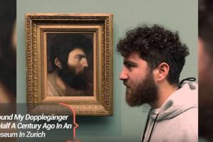 Όταν βρίσκεις τον σωσία σου σε πίνακα ζωγραφικής, το αποτέλεσμα είναι ξεκαρδιστικό