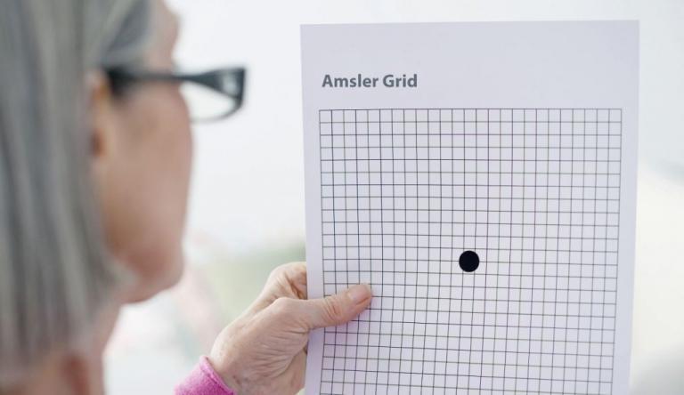 Κάντε ΕΔΩ το τεστ Amsler για εκφύλιση ωχράς κηλίδας, ή άλλα προβλήματα όρασης | Newsit.gr