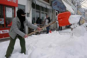 Διακοπή της κυκλοφορίας σε δρόμους της Δράμας και της Ροδόπης λόγω της κακοκαιρίας