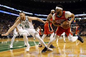 NBA: Σόου από Ντέιβις! «Διπλό» για Πέλικανς στη Βοστώνη [vid]