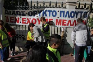 Απάντηση των εργαζομένων στα μεταλλεία Κασσάνδρας στον Γιάννη Μυλόπουλο
