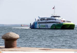 Βόλος: Διακοπή της ακτοπλοϊκής σύνδεσης Σποράδων Θεσσαλονίκης – Φεύγει το FlyingCut 4!
