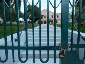 Μυτιλήνη: Κάγκελα παντού στη Μόρια – Αίσθηση από τα μέτρα ασφαλείας των κατοίκων της περιοχής [pics]