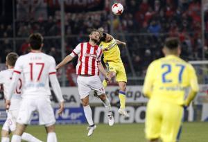 Αστέρας Τρίπολης – Ολυμπιακός: «Ερυθρόλευκο» στραβοπάτημα και προσπέραση ΠΑΟΚ!